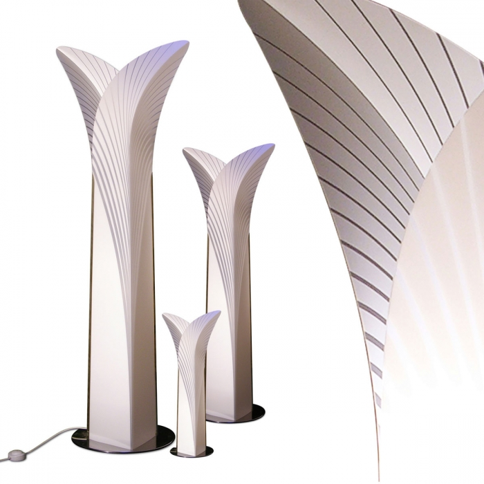 Lampadaire design salon las palma de slamp - Luminaire design salon ...