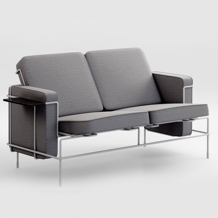 Canapé 2 places design TRAFFIC Sofa par Magis
