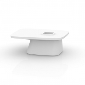 Table basse MOMA mate par Vondom