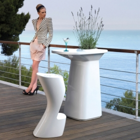 Table haute design mate MOMA Vondom