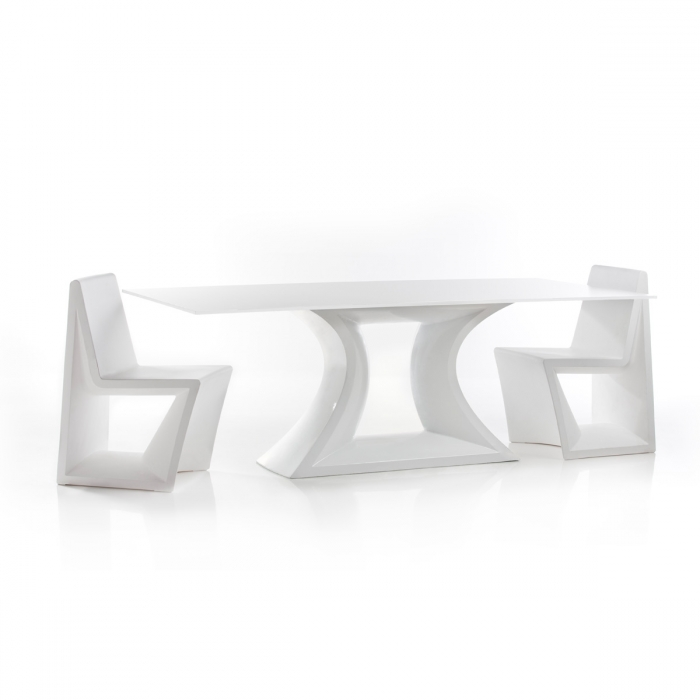 Table de repas design REST en HPL Vondom