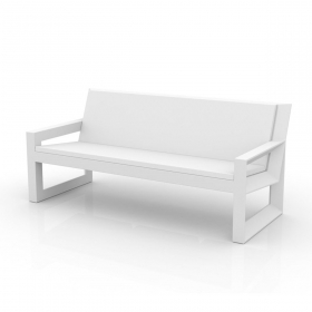 Sofa de jardin design 3 places FRAME par vondom