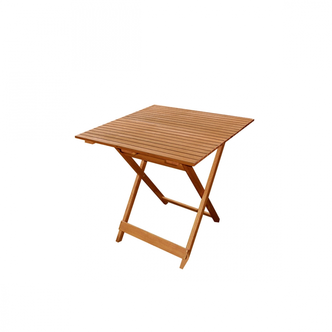 Table pliante forest 70x70 ezpeleta for Table de jardin pliante