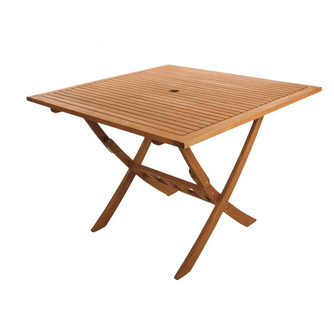 Table pliante forest 100x100 de ezpeleta - Table de bridge pliante ...