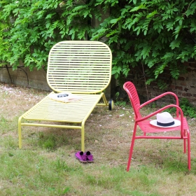 Transat de jardin design WEEK-END par Oxyo
