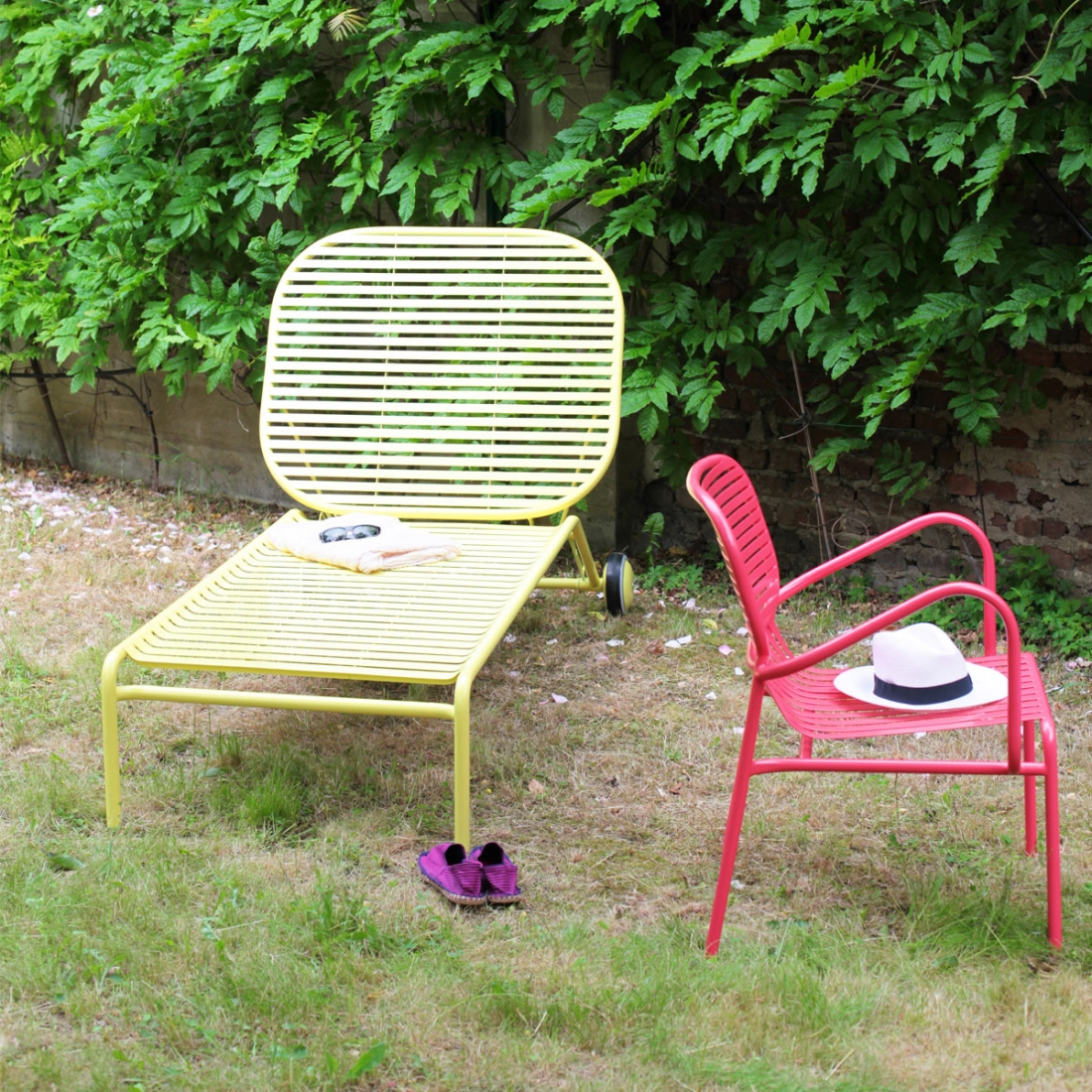 Transat de jardin design week end par oxyo for Transat exterieur design