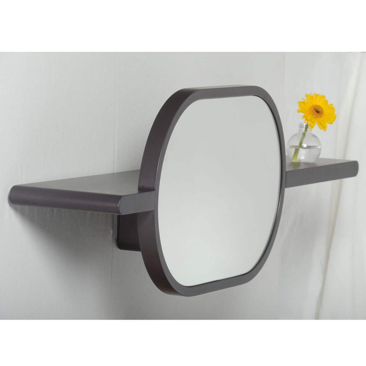 Tablette miroir design mirette horizontal oxyo for Miroir horizontal