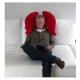 Coussin de canapé ergonomique design Wings Joy MEROWINGS