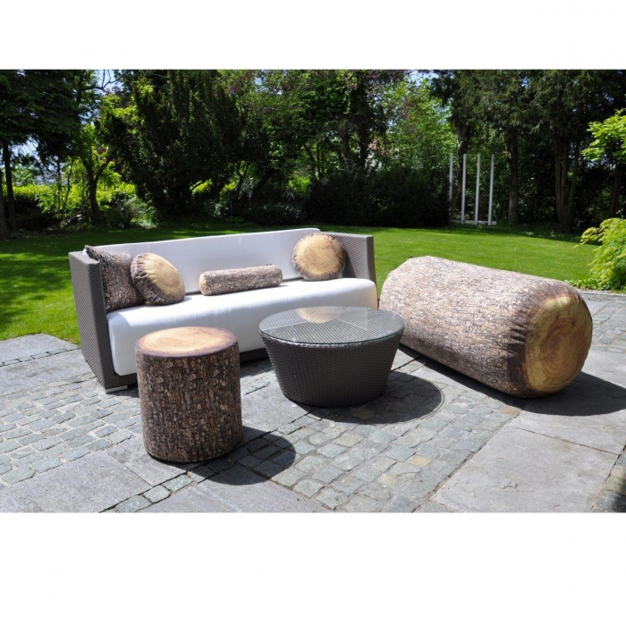 Sofa design original Forest tree trunk et Forest Jumbo log MEROWINGS