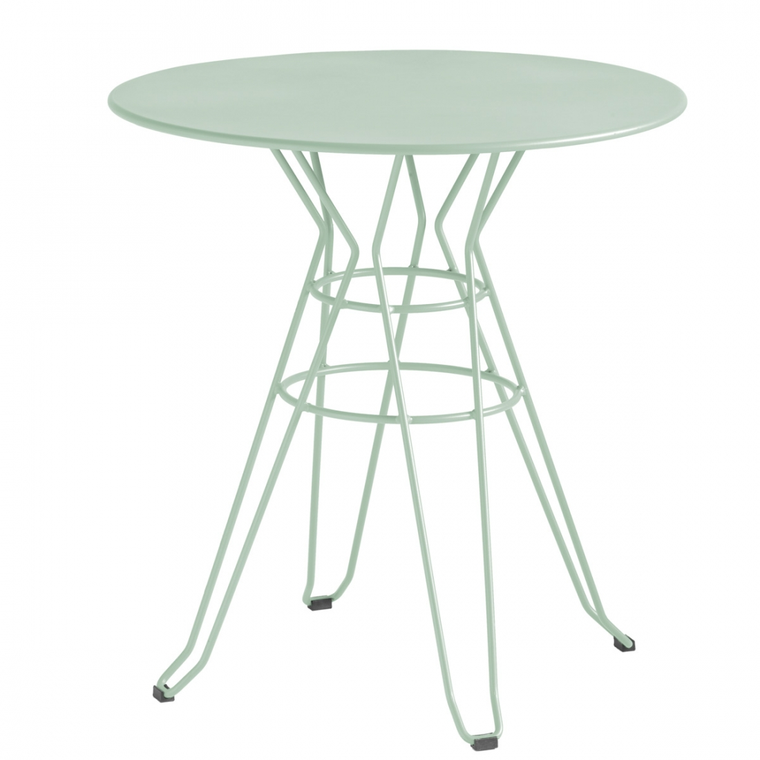 Table basse de jardin ronde capri isimar for Petite table ronde de jardin