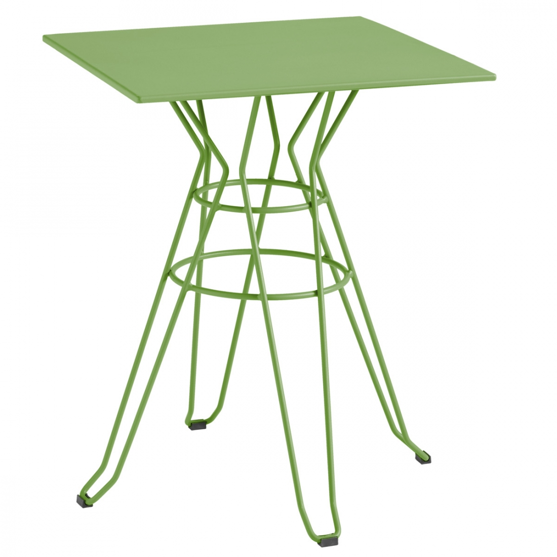 Table basse de jardin carr e capri isimar - Table basse de jardin ...