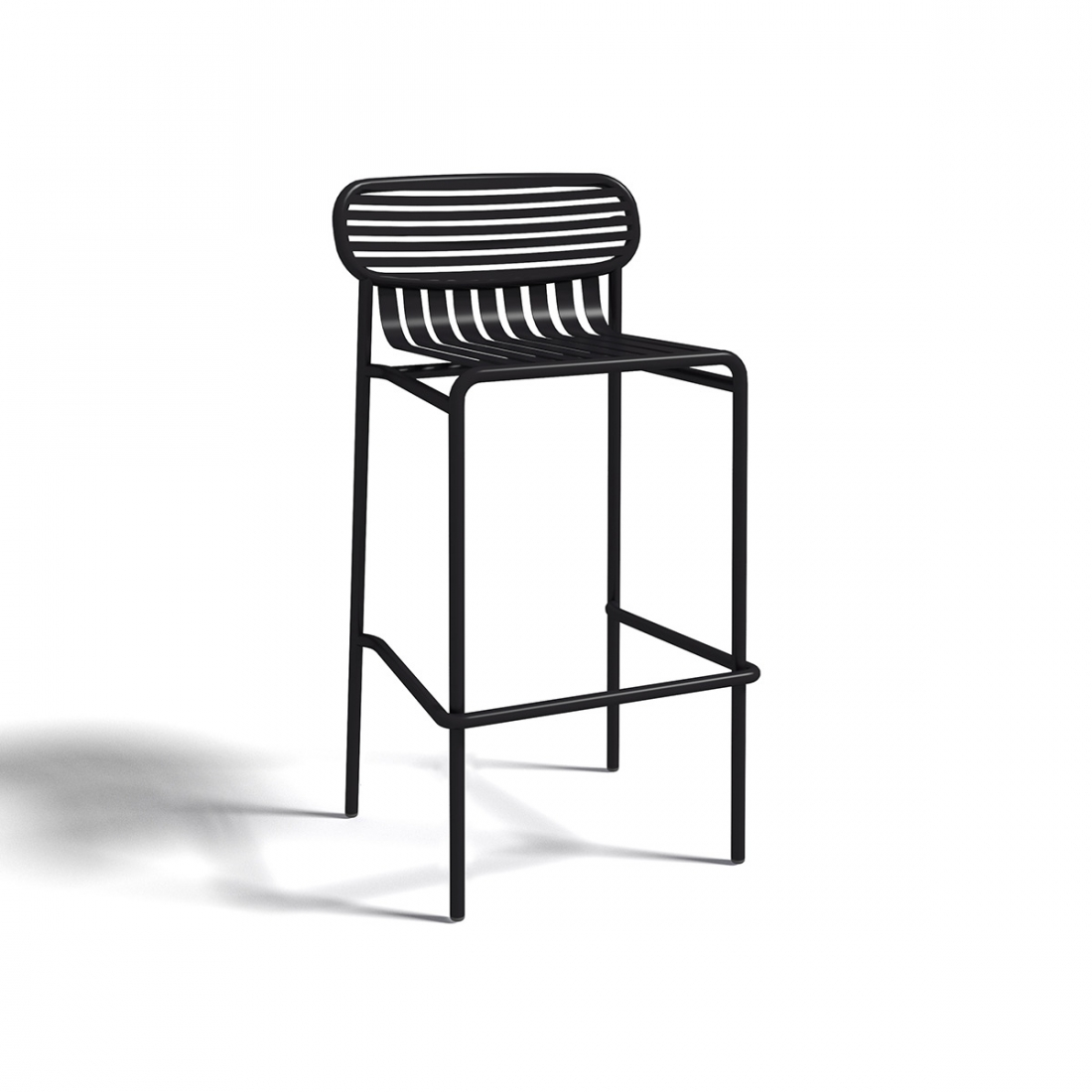 Tabouret de bar d ext rieur design week end par oxyo for Tabouret de bar exterieur