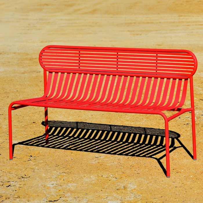 Banc de jardin week end par oxyo zendart design for Banc de jardin design