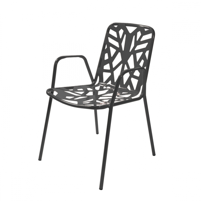 Fauteuil empilable RD ITALIA Fancy Leaf 2