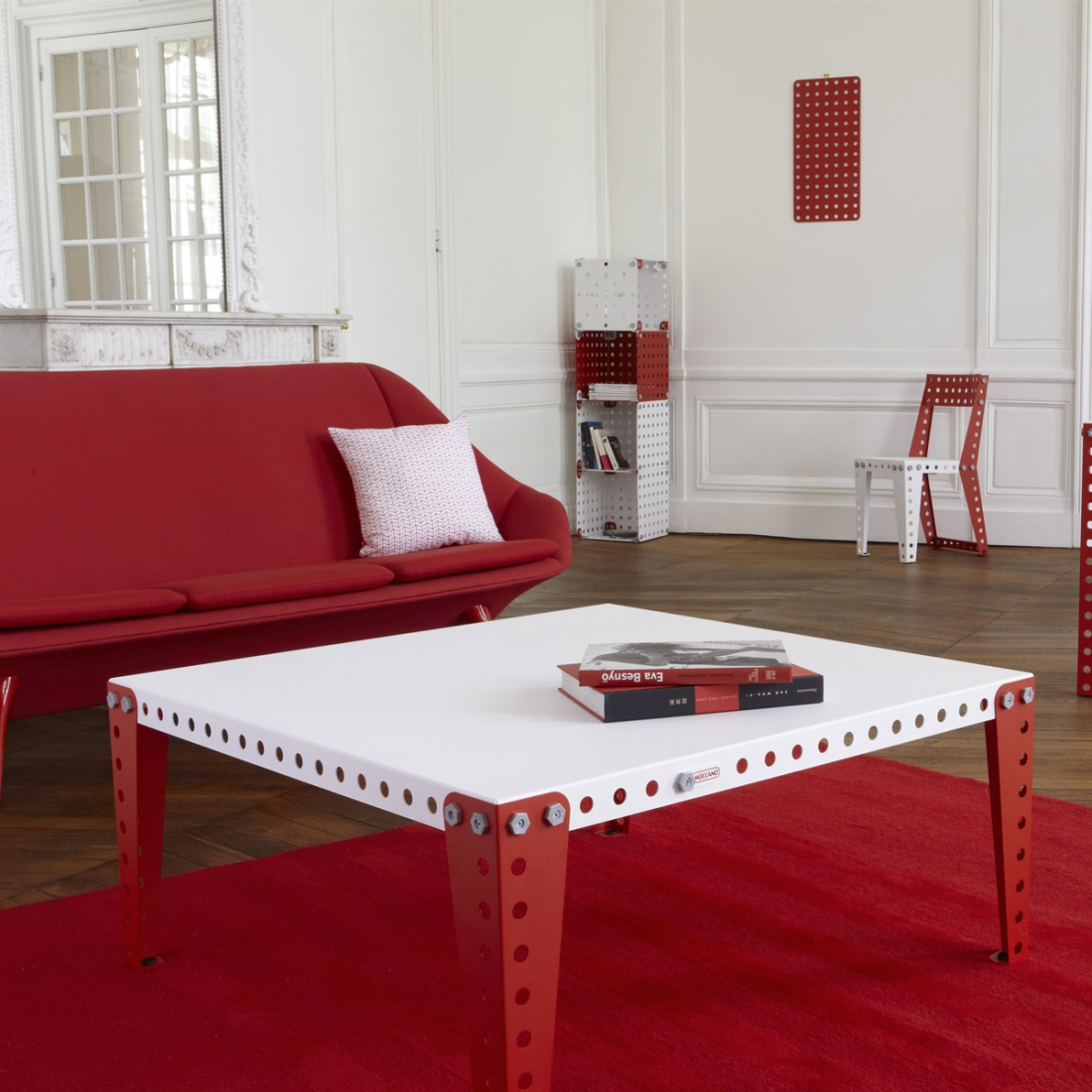 table basse design modulable meccano zendart design. Black Bedroom Furniture Sets. Home Design Ideas