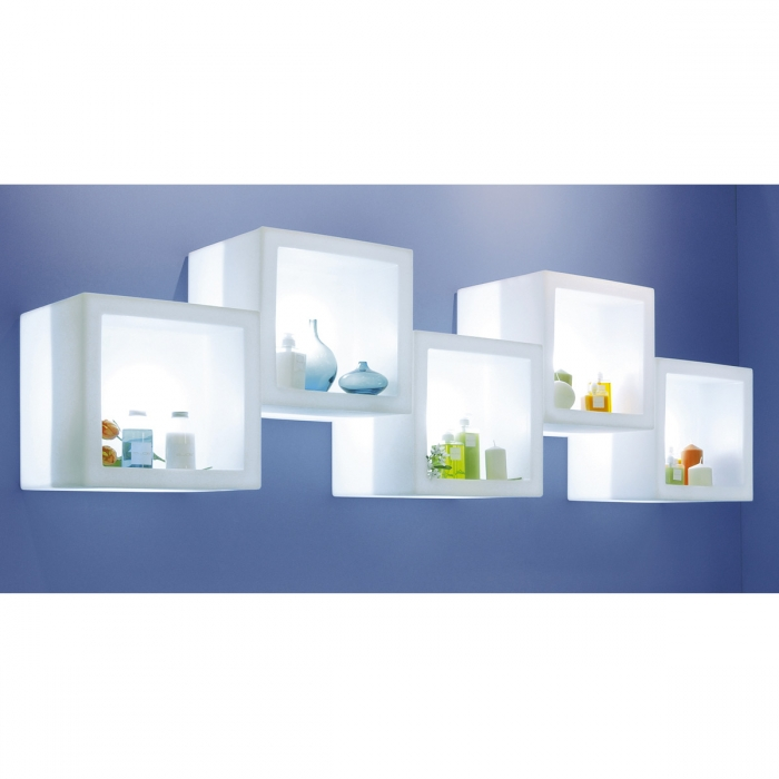 Etagere lumineuse Open Cube SLIDE   Zendart Design