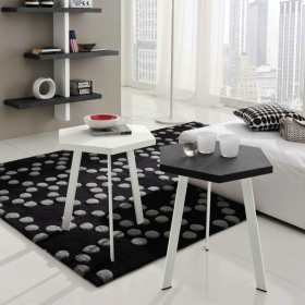 Table d'appoint haute design ROSSELLA