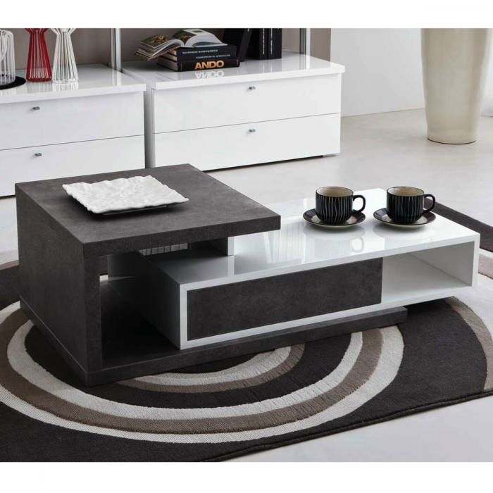 Table basse design mary for Table basse style loft
