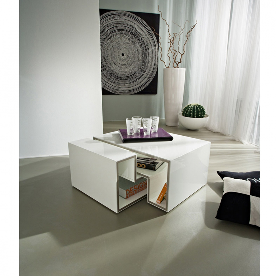 table basse modulable design marika. Black Bedroom Furniture Sets. Home Design Ideas