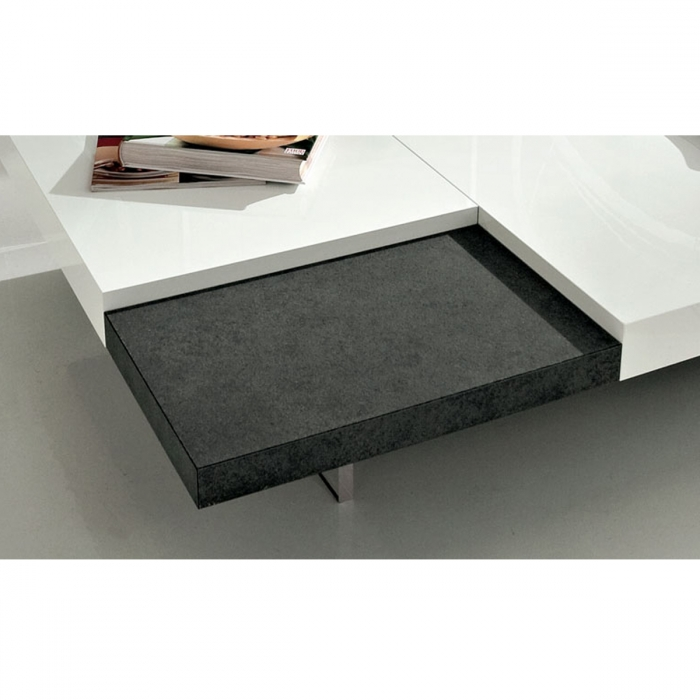 Table ultra basse design ERICA