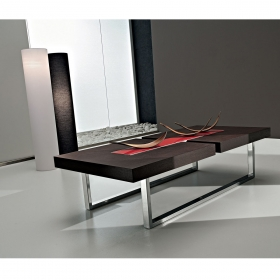 table console extensible design mattia zendart design. Black Bedroom Furniture Sets. Home Design Ideas