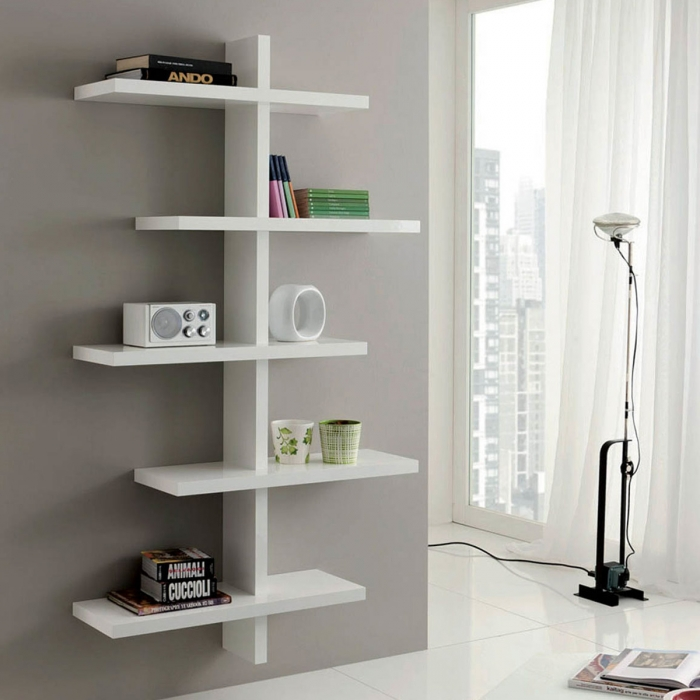 Etagère murale design VITTORIA simple