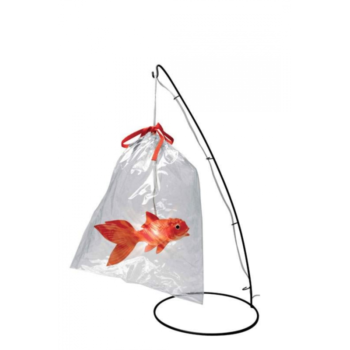 Lampe design ' poisson d'avril', Tung design