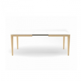 Table extensible porta venezia living pieds naturel INFINITI
