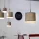 Suspension lumineuse design Lamp Beton SERAX