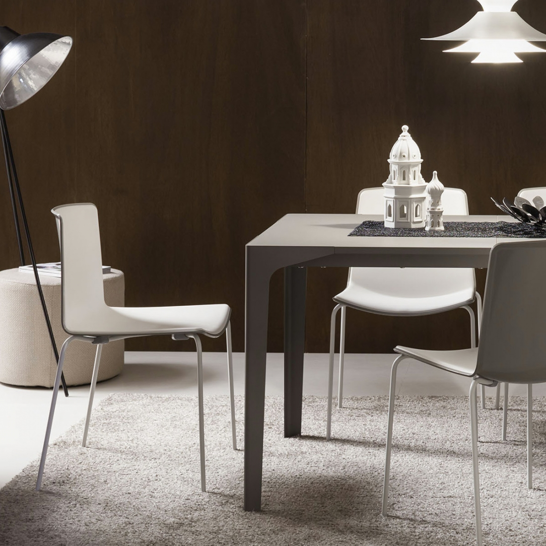 Table salle a manger avec rallonge zendart design for Table salle a manger extensible design