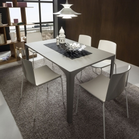 Table de repas extensible design ETTORE