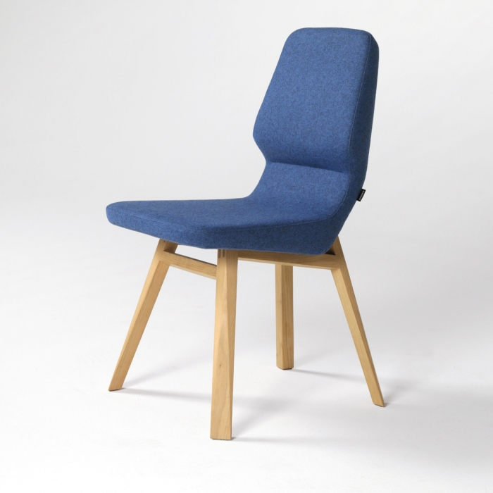 Chaise de repas design Oblique chair PROSTORIA