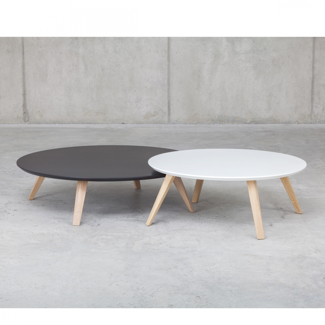 Table basse en bois prostoria zendart design - Table basse scandinave gigogne ...