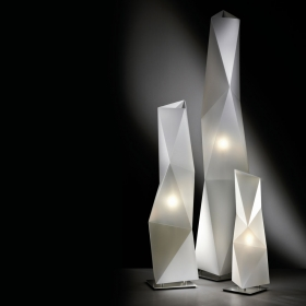 Lampadaire design Diamond SLAMP