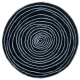 Tapis rond design Laps Now Carpets