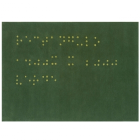 Tapis design braille Now Carpets