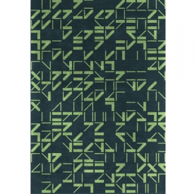 Tapis design Alphabet Now Carpets