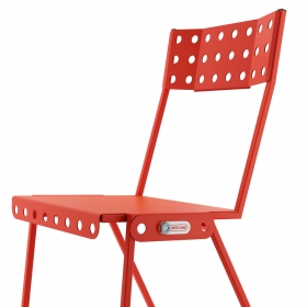 Chaise Bistrot Industriel MECCANO Home