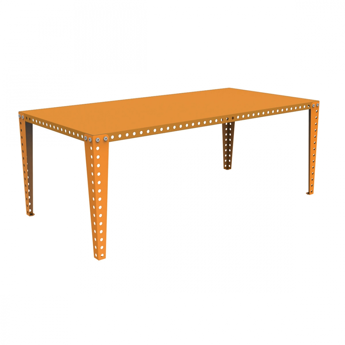 Table modulable design meccano zendart design - Table a manger modulable ...