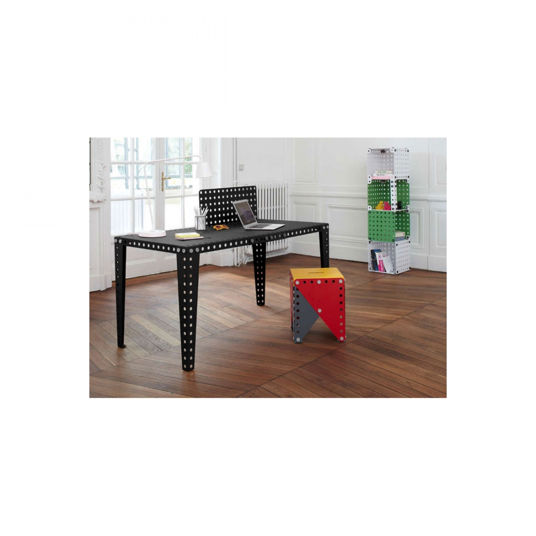 table modulable design meccano zendart design. Black Bedroom Furniture Sets. Home Design Ideas