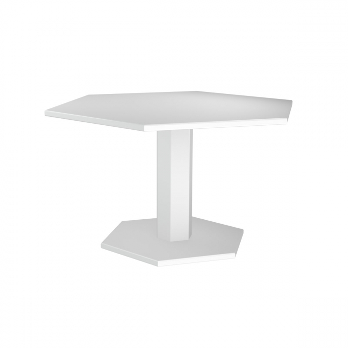 Table de repas design indus Hexagonale ZHED