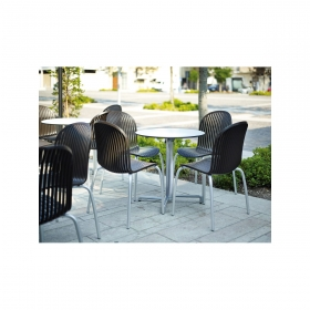 Table simple ronde Scudo LAM contract