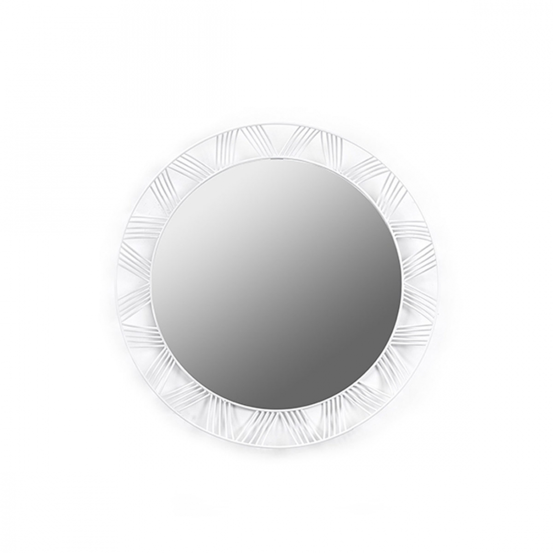 Miroir rond armature fer design serax zendart design for Miroir rond design