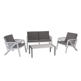 Salon de jardin Lounge Sunday Corfou design GROSFILLEX
