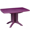 Table de jardin pliante Vega Prune GROSFILLEX