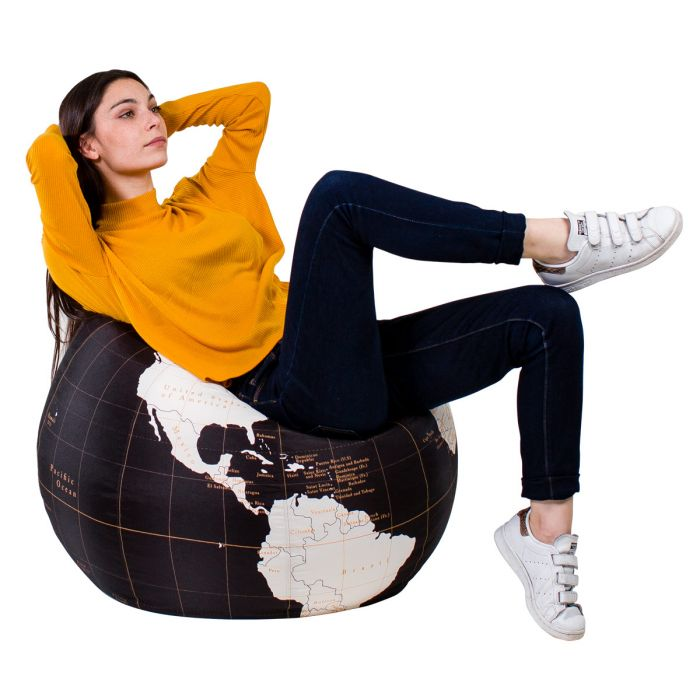 Pouf Small Globe design WOOUF