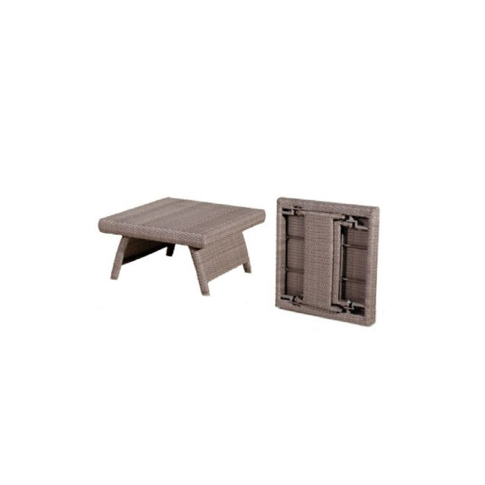 Table basse pliante duna sel les jardins - Table basse pliante but ...