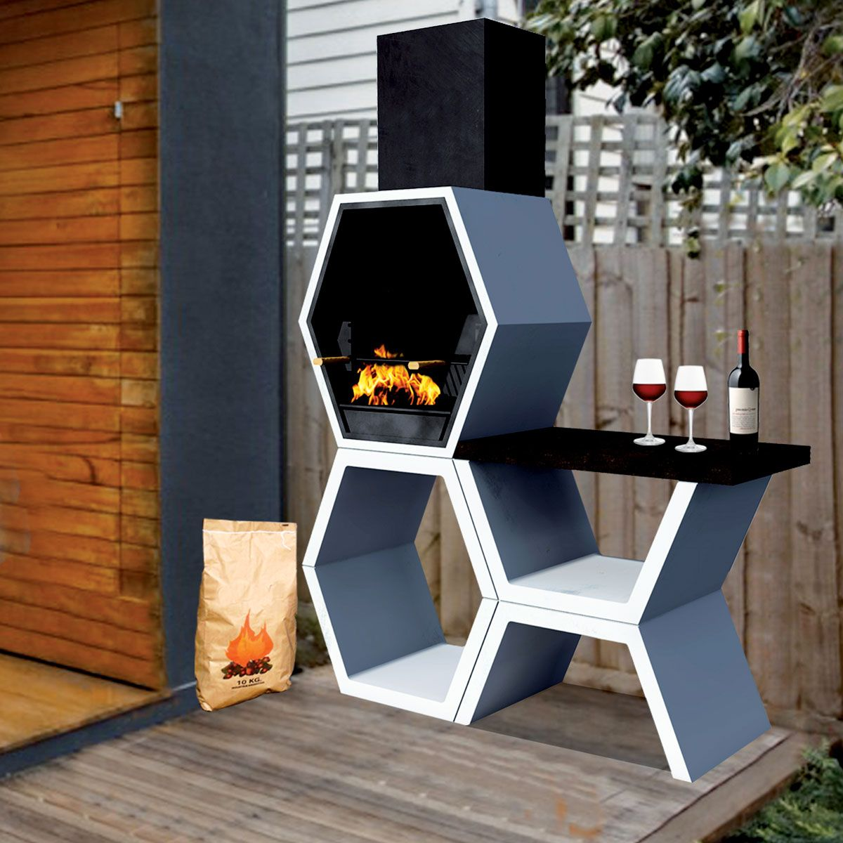 Barbecue Mod 03 Contemporain B LIVE