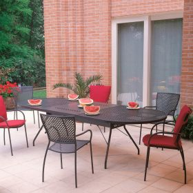 Ensemble de Jardin Reef XL Queen Anthracite RD ITALIA