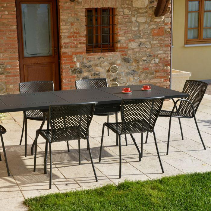 Ensemble de Jardin Estate L Sonia Anthracite RD ITALIA